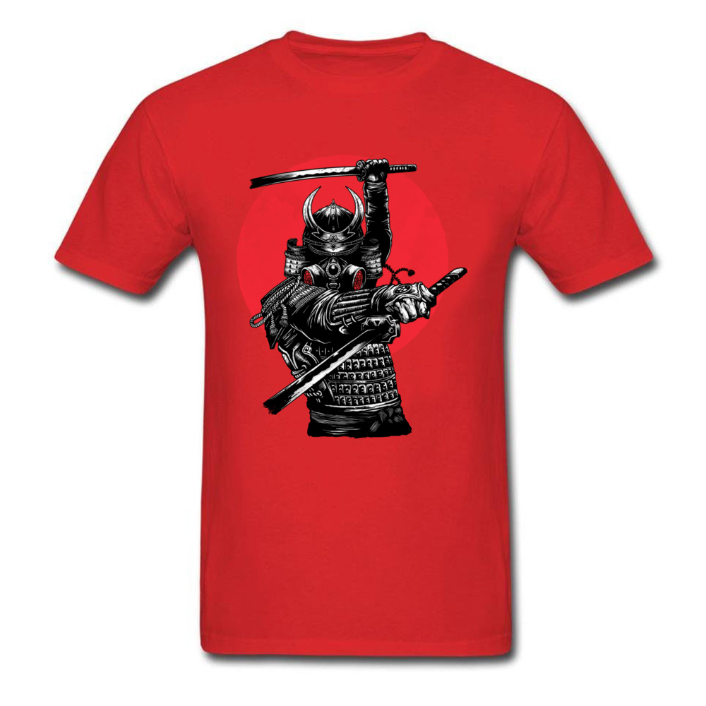 RONIN Crew Neck T Shirts Summer Tops & Tees Short Sleeve Discount 100% Cotton Geek Tops Tees Normal Mens Wholesale RONIN red