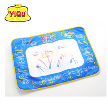 YiQu 50x70cm Water Drawing Board Mat With Magic Pen AquaDoodle Painting Sheet Water Doodle Mat Developing Mat For Children