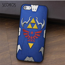 Scozos The Legend of Zelda Hylian щит моды телефона чехол для iPhone X 4 4S 5 5S SE 5C 6 6S 7 8 6 и 6S плюс 7 плюс 8 плюс # ca423(China)