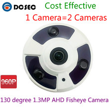 960P 1.3 Megapixel Fisheye 130 Degree AHD Camera Dome Vandal-proof Camera To protect your safety Free Shipping to all countries(China)