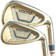 New mens Golf Clubs KATANA VOLTIO HI IV Golf irons set 4-9.P.A.S Clubs with Graphite Golf shaft Regular or stiff  Free shipping