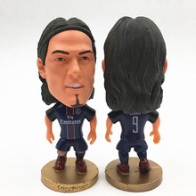 Soccerwe Stand 9 Cavani Soccer Doll ( PSG 2016-17 Season ) Black(China)