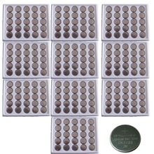 250pcs in Bulk CR2032 DL2032 2032 KCR2032 5004L 3V 210mAh Lithium button cell coin Batteries For Watches,Calculator etc(China)