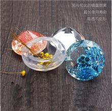 Transparent Silicone Mould Dried Flower Resin Decorative Craft DIY Mold Diamond Type epoxy resin molds for jewelry(China)