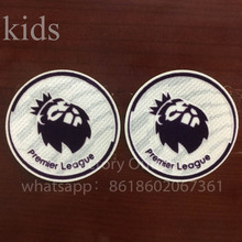 2pcs NEW england Premier League kids white soccer patch NEW EPL 1617 yonth game soccer Badges free ship patches(China)