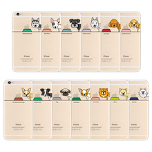 Ultra Slim Thin Soft TPU Case Cover Cartoon Lovely Cute Dog Pet Design Phone Case for iPhone 6/6s 6 Plus/6s Plus SE/5/5s(China)