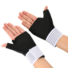2 PCS Elastic Wrist Brace Adjustable Wrist Brace Support Guard Protector Thumb Support Relieve Strap