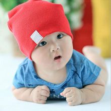 Spring Autumn Winter Baby Hat  Baby Caps Muts Knitted Beanies Solid Toddler Infant Caps Newborn Photography Props Acessorios