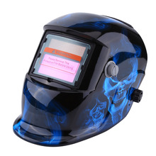 Anti-UV-IR Solar Welding Helmet Auto-Darkening Welding Helmet Welding Mask Grinding Helmet Accessories View Area 9.2 x 4.2cm
