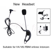 Vnetphone Helmet Headsets  Headset  and Coach Referee Bluetooth Headsets Headphones for V4/V6/FBIM  Earphone Referee Microphone
