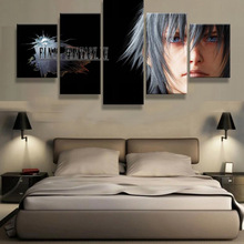 5 Panels canvas prints FINAL FANTASY 03 canvas painting fans hot  poster home decor wall art framed artwork