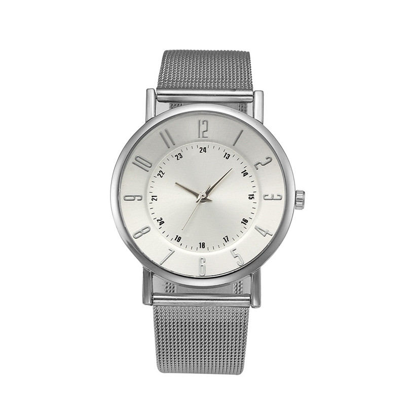 Women's watches brand luxury fashion ladies watch Classic Geneva Quartz Stainless Steel Wrist Watch Relogio feminino M03 (1)