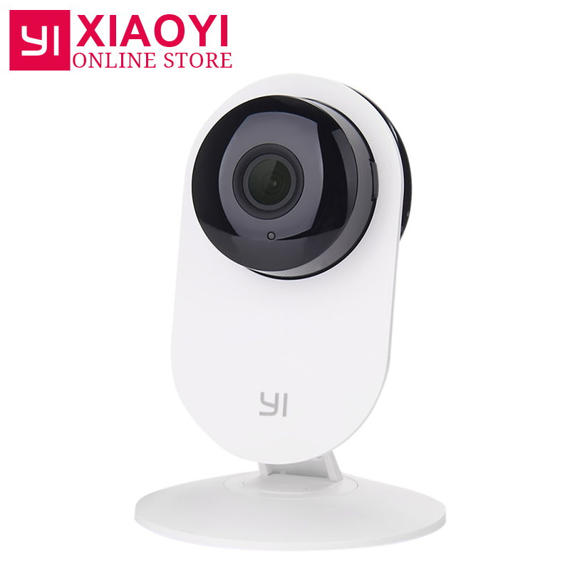 [International Edition] Xiaomi YI Home Camera 720P HD Xiaoyi IP Camera 110 Wide Angle Two-way Audio Activity Alert Smart Webcam<br>