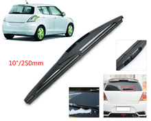 "DWCX 10""/ 250mm Rear Rain Window Windshield Wiper Blade For Suzuki Swift 2005+ / SX4 2007+  for MITSUBISHI ASX 2010+"