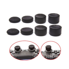 Gen Game 8pcs for PS4 Playstation DualShock 4 Pro Slim Controller Replacement Swap Thumbsticks Joystick Caps For XBOX One Elite(China)