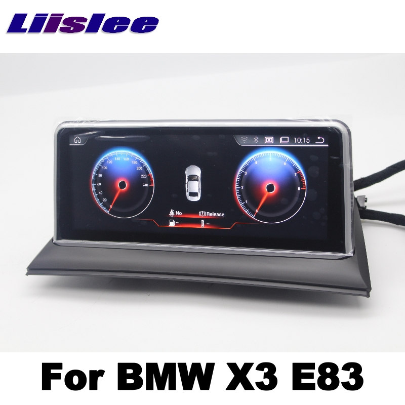 LiisLee For BMW X3 E83 2003~2010 Car Multimedia GPS Map 10.25Android Audio Hi-Fi Radio Stereo Original Style Navigation NAVI 5
