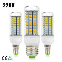 Energy Saving 220V LED lamp 5730 SMD 24/36/48/56/69/72LEDs Replace 7W 12W 15W 20W 25W 30W Fluorescent Light Bulb E27 E14 Lampara