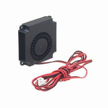 Gdstime 10 Pieces 3D Printer Cooler 40mm x 40mm x 10mm 4cm DC 12V 2Pin 120cm 4ft Cable Turbo Blower Cooling Centrifugal Fan