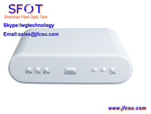 Network Routers Telecom Equipment 1GE ONU ONT, can be used as GPON & EPON, comply with Huaway, ZTE, Fiberhome OLT