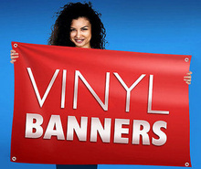 Custom Vinyl Banner Indoor/Outdoor Personalized Vinyl Banner Signs