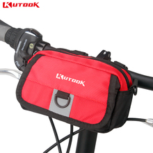 KUTOOK Bike Bag MTB Bicycle Road Bike Front Frame Handlebar Bag Basket Waist Bags 2 Colors Bicycle Accessories KB237