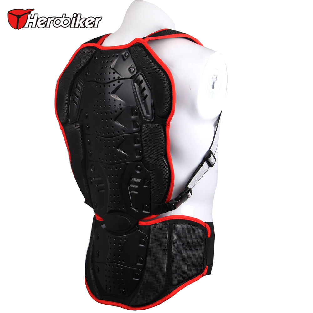 HEROBIKER motorcycle backpiece Pro-biker motocross Protection backside Ski armor to protect the back armor<br><br>Aliexpress