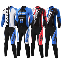 Buy 2016 TUMOON Cycling Jersey Sets Men's long Sleeve Bicycle Cycling Clothing Set Bike Wear Shirts Outdoor Maillot Ropa Ciclismo for $32.40 in AliExpress store