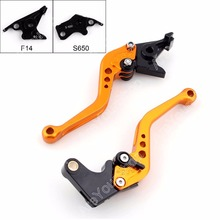 Areyourshop for Suzuki Motorcycle Adjustable Brake Clutch Levers for Suzuki SV650/S 1999-2010 DL650/V-STROM 2004-2010 Brake(China)