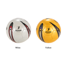 Size 5 TPU Soccer Ball Inflatable Football Ball Soft Touch Weatherproof Durable Soccer for Game Match Training 2 Colors