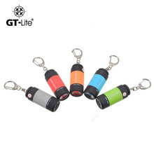 GT-Lite 25Lm USB Mini LED Keychain Light Lamp Key Chain Rechargeable Flashlight High quality Portable Waterproof Torch GTTL110