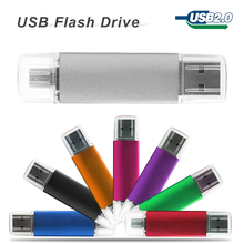 Smart Phone OTG USB Flash Drive 32gb 16gb 8gb 4gb Pendrive Tablet PC Pen Drive memory stick Micro USB 2.0 For Samsung Cellphone