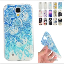 Cartoon Lemon Bike Tree painted Rubber Back Cover Silicon Gel Soft TPU mobile phone case For Samsung Galaxy S4 I9500 I9505 I959(China)
