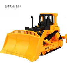 Diecast Bulldozer Car Construction Vehicle Engineering Car Truck Model Classic Toy Traffic Light Dinky Tractor Toy For Children