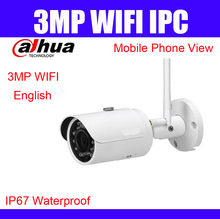 Dahua 3MP wifi outdoor IP Camera IPC-HFW1320S-W DH-IPC-HFW1320S-W English version free upgrade replace IPC-HFW2325S-W cctv cam