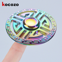 Buy Hand Spinner Anti Stress Fidget Toys Fingertip Gyro Fidget Spinner Cool Gift Adults/Kids Autism ADHD EDC Finger Spinner for $5.98 in AliExpress store