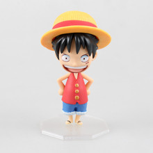 One Piece POP Monkey D Luffy Limited Edition Mini 10cm Model Anime PVC Action Figure Kids Toys