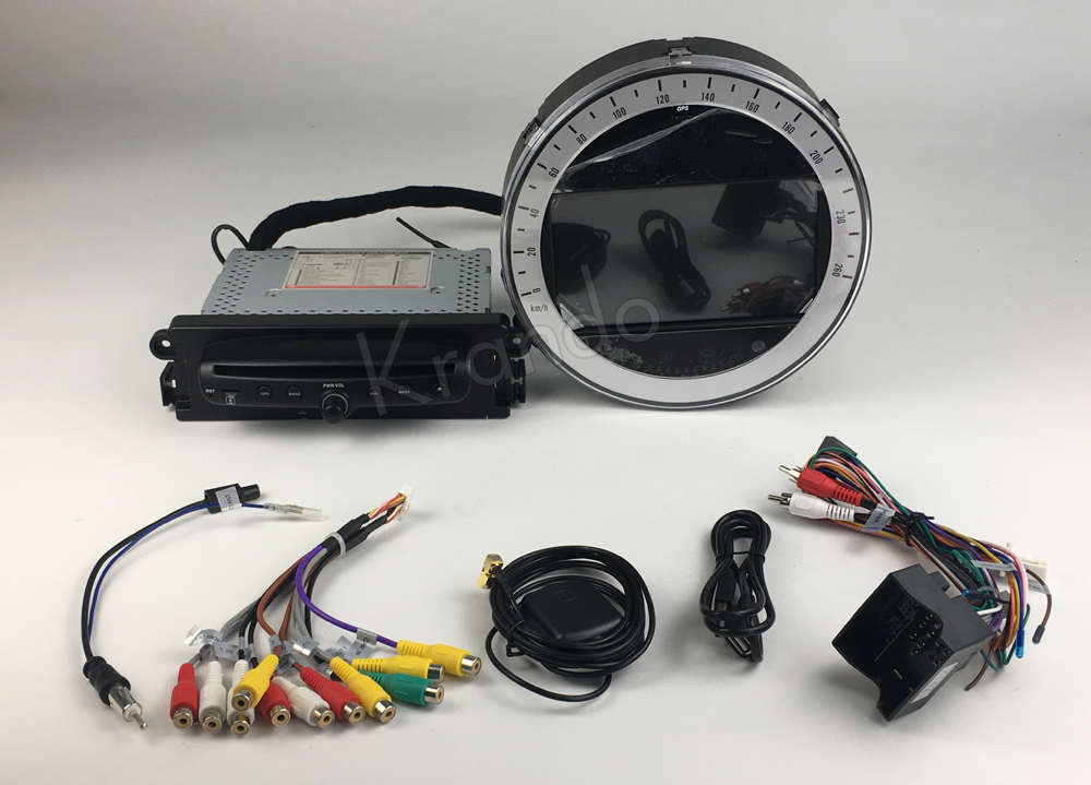 Krando android car radio gps for BMW Mini Cooper navigation multimedia system (3)