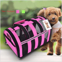 2016 Multifunctional Fashion Pet Bag Out Package Travel Backpack Teddy Dog Fashion Dog Cat Bag Carry Luggage Shipping Supplies