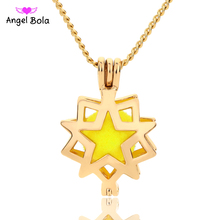 Angel Bola Jewelry Yoga Aromatherapy Essential Oils Surgical Perfume Diffuser Locket Necklace Drop Shipping L150