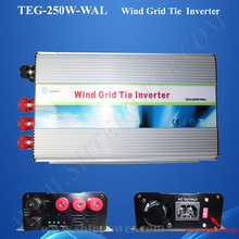 wind power system 10.5-30v to 90-130v 190-260v ac to ac grid tie inverter 250w