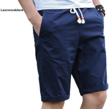 Summer Cotton Shorts Men Fashion Brand Boardshorts Breathable Male Casual Shorts Comfortable Plus Size Cool Short Masculino 208(China)