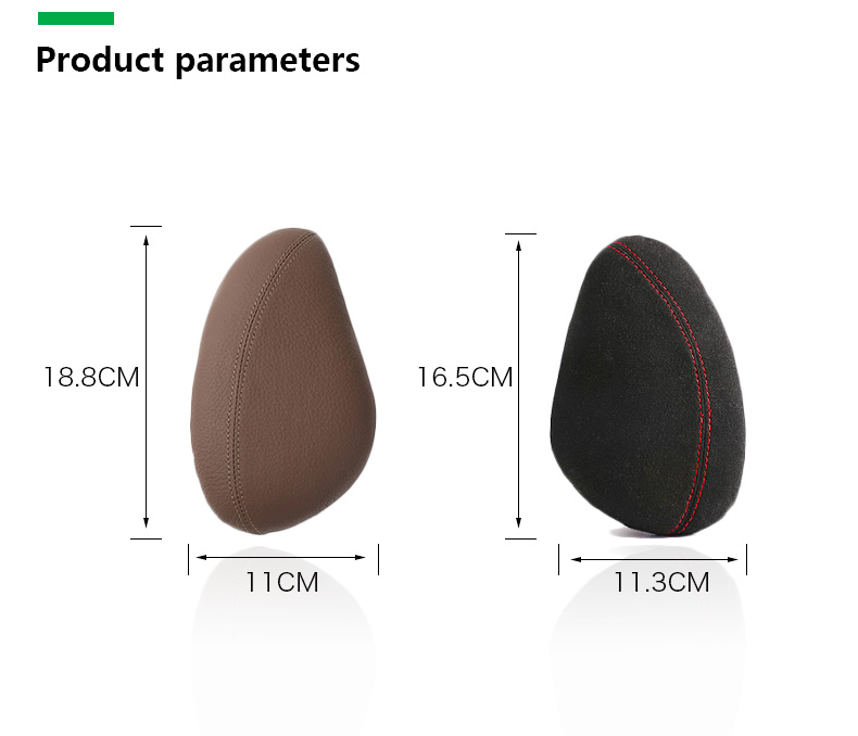 Leather Leg Cushion Knee Pad Thigh Support Pillow Interior Car Accessories for BMW E46 E39 E60 E90 E36 F30 F10 X5 Z4 7 (11)