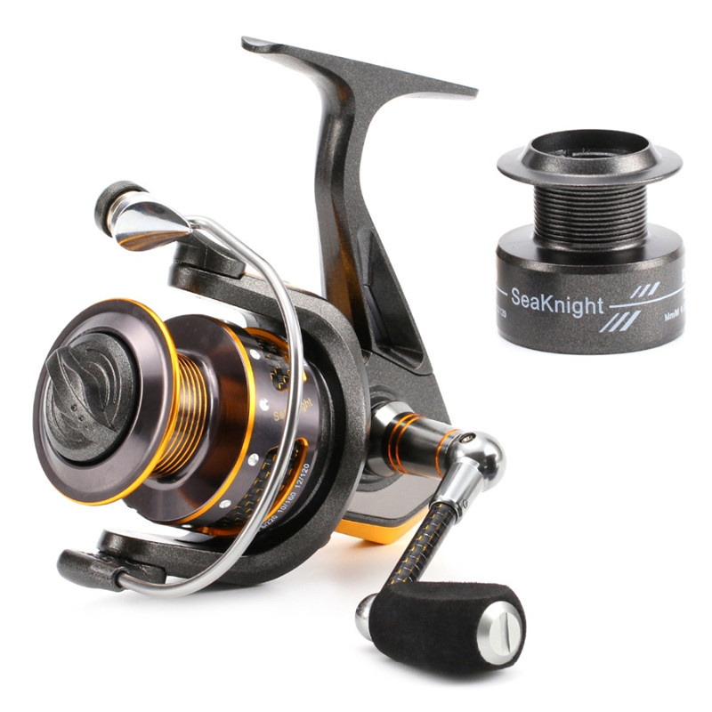 carbon Fishing Reel AC1000-7000 13BB 5.5:1 5.1:1 Fishing tackle Spinnning Reel Feeder Carp Fishing Wheel+Spare Spool<br>