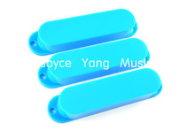 Niko Sky Blue No Hole Closed Single Coil Pickup Covers For Fender Strat/Tele Style Electric Guitar Free Shipping Wholesales(China)