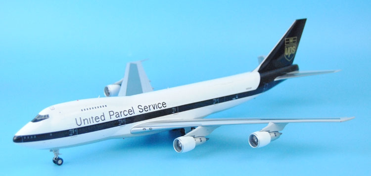 New JC Wings 1: 200 UPS B747-200F N523UP XX2132 cargo aircraft model Alloy aircraft model Favorites Model(China (Mainland))