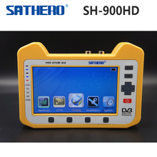 DVB-S2 Sathero SH-900HD Digital Meter Satellite Finder CCTV IN HD Spectrum Analyzer & Coaxial Digital Monitoring Test Function