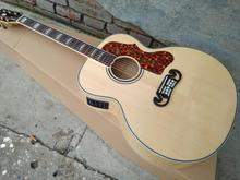 "Factory 43"" log J200 Acoustic Guitar,Top quality Jumbo size J200vs Acoustic Guitar,Custom logo,In stock,Free shipping"