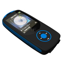 "1.8"" TFT Bluetooth MP3 Player support TF card 4G storage Built in FM Radio #C(China)"