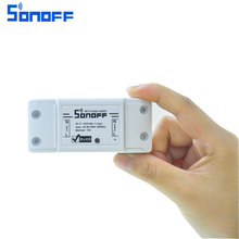 Sonoff Smart Wifi Switch DIY Remote Wireless Smart Switch Domotica  Light Switch home Automation Modules Works with Alexa