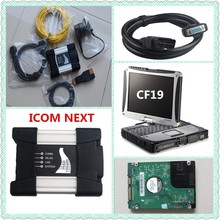 Promotion For BMW ICOM NEXT A+B+C 2017 New Generation OF ICOM A2 + CF19 Laptop 4gb + Software HDD Ready To Work